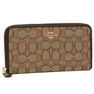 ACCORDION ZIP WALLET (COACH F54633)